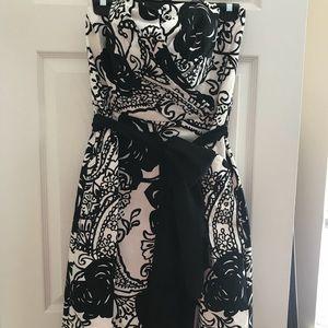 WHBM strapless dress Size 12